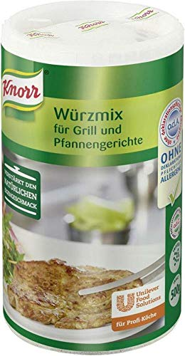 Knorr Aromat für Grill- und Pfannengerichte 500 g, 1er Pack (1 x 0.5 kg)