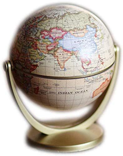 Educational Swivel Globe Swivel Globe Früherziehung in englischer Sprache Zur Wiederherstellung Alter Weisen The Globe Innenausstattung Universal Terrestrial Globe The Study Decorates Metal for des