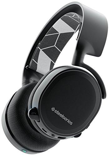 SteelSeries Arctis Bluetooth - Auriculares para juego, inalámbrico, compatible con las plataformas PC, Mac, PlayStation 4, Nintendo Switch, Android, iOS, VR, color Negro