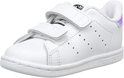 adidas Unisex Baby Stan Smith Cf I Lauflernschuhe, Mehrfarbig (Plasld/Ftwbla 000), 20 EU