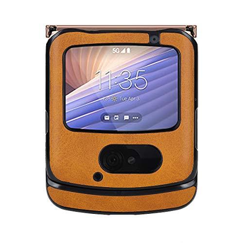 Custodia® Kunstleder Hülle Kompatibel für Motorola Razr 5G (4)