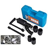 Mophorn 1:58 Torque Multiplier Wrench 5800 NM Lug Nut Wrench Set Lugnut Remover with Case Labor Saving Wrench Tool Heavy Duty Torque Multiplier Tool for Truck Trailer RV