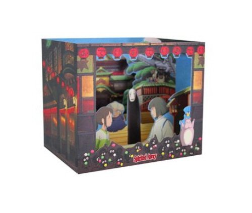 Studio Ghibli Characters Dimensional Cards Diorama 4 Types Limited Edition - My Neighbor Totoro, Kiki's Delivery Service, Spirited Away, Ponyo on the Cliff By the Sea (Spirited away)