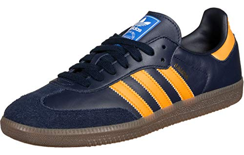 adidas Trainers Adidas Samba OG Trainers Navy/Orange 6.5