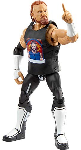 WWE Murphy Elite Collection Action Figure, 6-in/15.24-cm Posable Collectible Gift for WWE Fans Ages 8 Years Old & Up