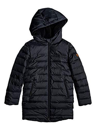 Roxy Waterfall Song - Longline Hooded Puffer Jacket for Girls 4-16 - Mädchen 4-16