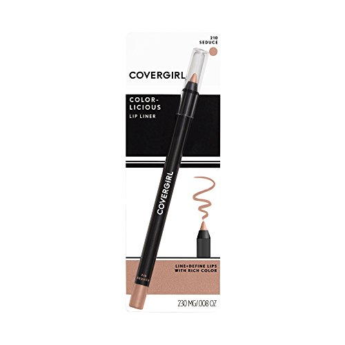 COVERGIRL Colorlicious Lip Perfection Lip Liner Seduce 210, .04 oz (packaging may vary)