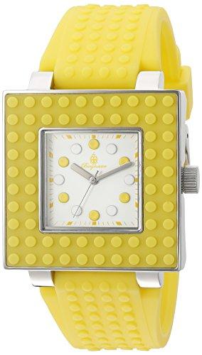 Burgmeister Armbanduhr für Damen mit Analog Anzeige, Quarz-Uhr und Silikonarmband - wasserdichte Damenuhr mit zeitlosem, schickem Design - Klassische, Elegante Uhr für Frauen - BM610-180B Color Games