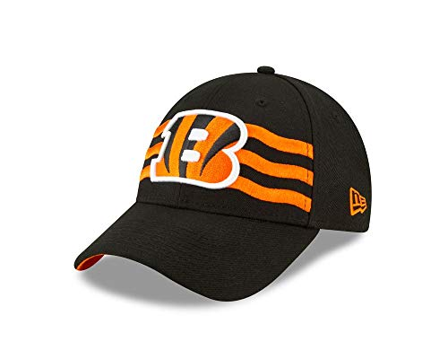 New Era - NFL Cincinati Bengals Draft 2019 On-Stage 9Forty Strapback Cap - Schwarz