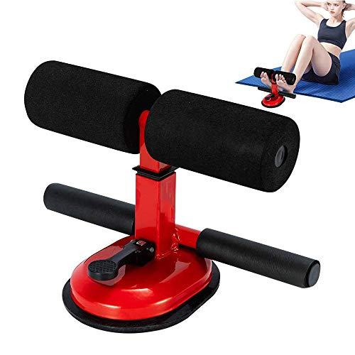 Best Prices! NBCDY Sit Up Bar, Portable Upgraded Design Suction Sit-up Floor Bar with Comfortable Pa...