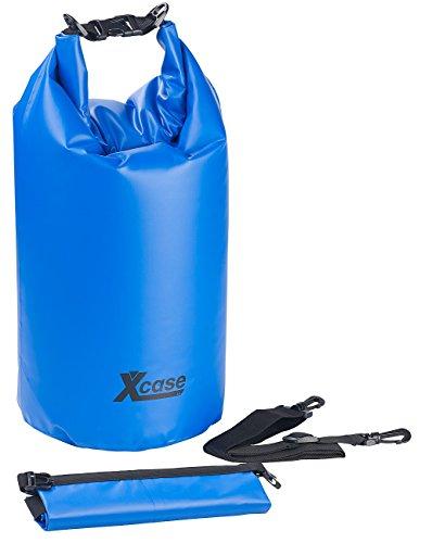 Xcase Seesäcke LKW-Plane: Wasserdichter Packsack, strapazierfähige Industrie-Plane, 20 l, blau (Softcase)