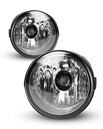 Fog Lights for 09-14 Nissan Cube/Murano, 11-13 Rogue, 11-14 Juke/Quest, 06-15 Infiniti FX35/FX37/QX70 2PCS With Clear Lens AUTOWIKI