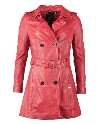 Maze Damen Trenchcoat Mit Bindegürtel Culima Red XL