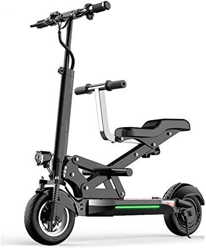 YYhkeby E-Scooter Electric Scooters, 55 km / h de Velocidad Superior y Rango de 40 km, con Pantalla LCD, Carga máxima de 200 kg Jialele