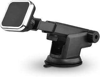 OnKJ車載ホルダー スマホスタンド 粘着式 マグネット式 車載携帯ホルダー 360度回転可 着脱簡単 调节可能
