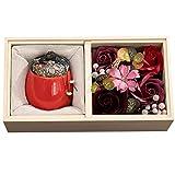 VALICLUD 1 Pièces Creative Aromathérapie Bougie Élégant Bougie Parfumée Fleur Décoration De Bureau pour Les Mères Jour Festival