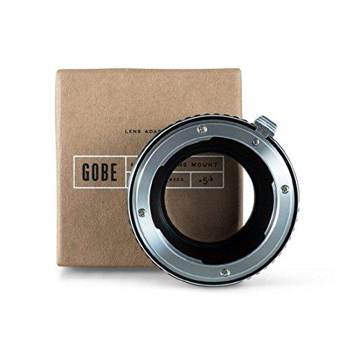 Gobe - Adaptador de Lente Compatible para Lentes Nikon F y cuerpos de cámara Nikon 1