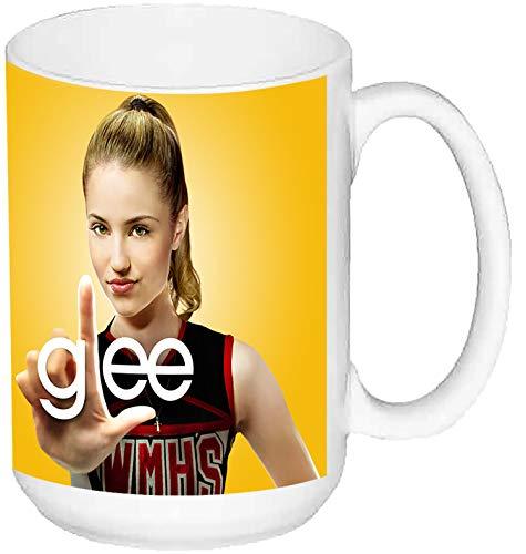MasTazas Glee Dianna Agron Taza Grande Ceramica 15 oz ≈ 443 ml
