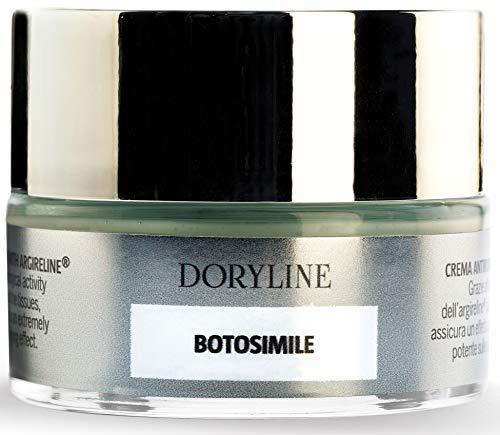 BOTOSIMILE Gesichtscreme mit Argireline®, kraftvolle Entfaltung der Haut (ähnlich Botulinatoxin), Lifting-Effekt, ideal für Dermaroller, [50 ml] 100% Made in Italy