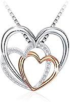 Swarovski Elements 925 Sterling Silver Pendant Necklace for Female Women Ladies Girls Gift Jewelry JR890