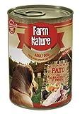 Farm Nature Pato con Albaricoque y Trufa Comida Húmedos para Perros 400 G 400 g