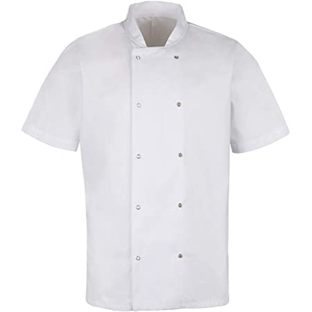 Alexandra | Short Sleeve Chef Jacket | Ideal for Any Level of Chef | White | HO10WH-S
