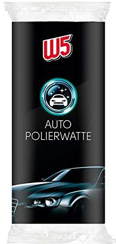 W5, spugna per lucidatura auto, in ovatta per lucidare e lucidare vernice e prodotti cromati (800 g)