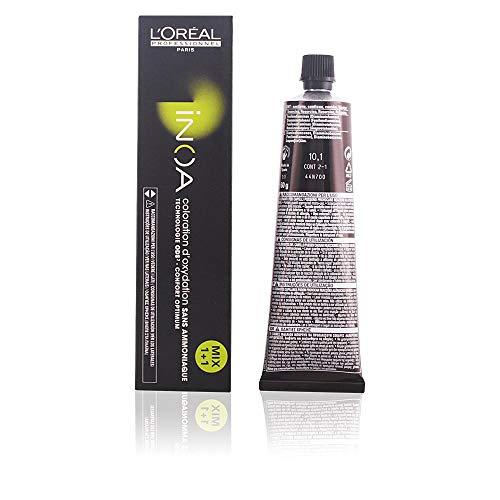 L'Oréal Inoa Haarfarbe 10,1 Platinblond Asch, 84 g