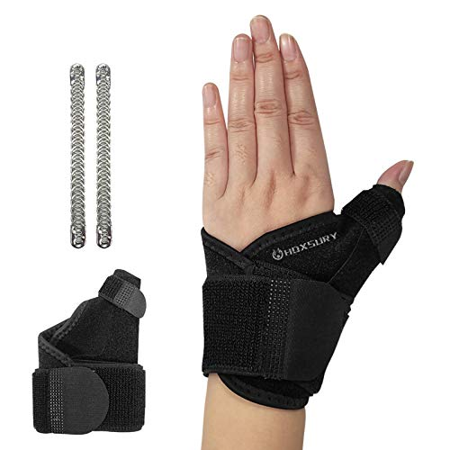 Wrist Brace for Carpal Tunnel, Adjustable Thumb Wrist Support Brace for Sports Protecting/Tendonitis Pain Relief, Splint Wrist Brace Day Night Support for Women Men, Suitable for Both Left/Right
