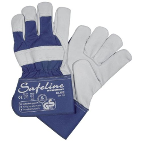 Safeline Promat Handschuhe Elbe Gr.10 Rindvollleder SAFELINE PROMAT gefüttert