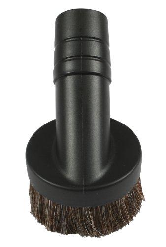 """Cen-Tec Systems 60638 Vacuum Attachment, 1.50"""" Dust Brush, Black"""