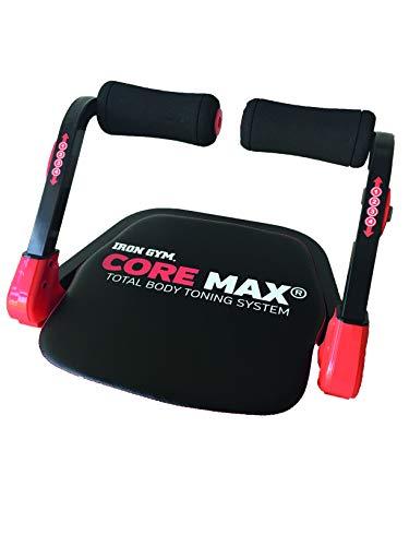IRON GYM Unisex– Erwachsene Core Max Heimtrainer, rot, 55 x 13 x 57