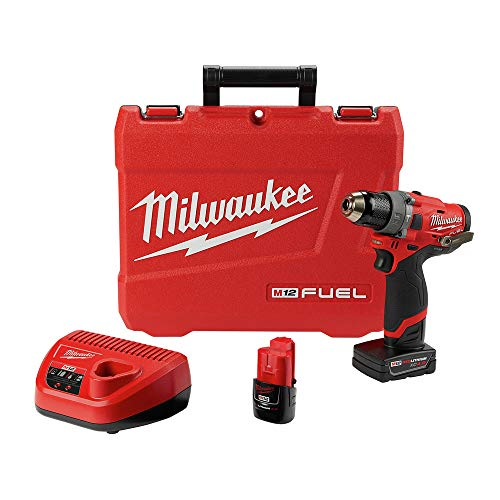 Milwaukee Electric Tools 2504-22 M12 Fuel 1/2' Hammer Drill Kit