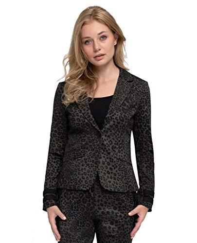 Zhrill Damen Blazer Anzugjacke Elegant Slim Fit Betsy, Größe:S, Farbe:N297 - Caramel