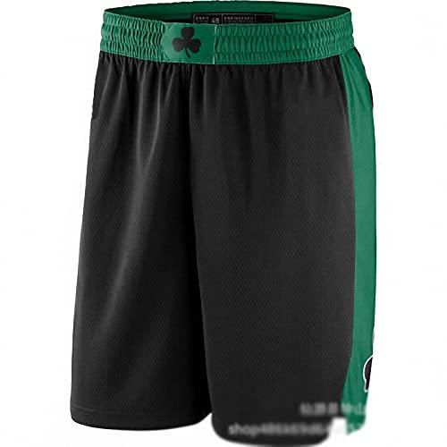 WYNBB 2021 NBA Men Celtics Basketball Jersey Pantalones Cortos de Baloncesto de los Hombres Nuevo Atlético Entrenamiento Pantalones Cortos Sueltos Bolsillos Hombre Corto,F2,M