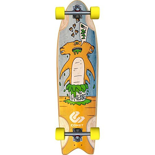 Comet Skateboards Grease Hammer Complete Longboard - 9.875 x 36 by Comet Skateboards