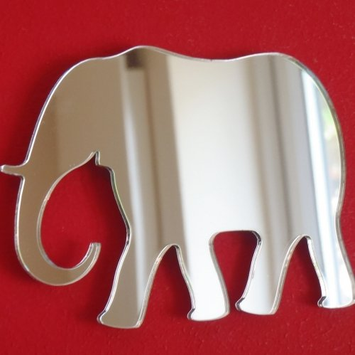 Super Cool Creations Elephant Mirror - 20cm x 14cm