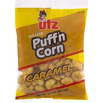Carmel Puff n Corn 3.5 Ounce  4 Count