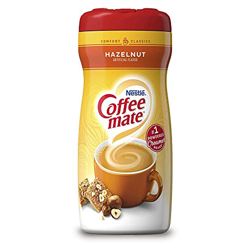 Nestle Coffee-Mate Hazelnut Powdered Coffee Creamer 15 oz Coffee-Mate Hazelnut Powdered Coffee Creamer 15 oz
