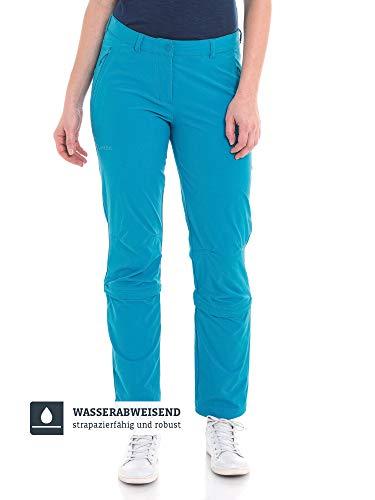 Schöffel Damen Pants Engadin1 Bequeme und elastische Zip-Off Funktion, kühlende und schnell trocknende Outdoor Hose für Frauen, caneel bay, L/40