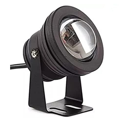 BDSHL Proyector LED Luz subacuática 10w Luz del Paisaje Espejo Convexo IP68 a Prueba de Agua DC12V 24V Mando a Distancia por radiofrecuencia Vistoso Luz de Fuente de rocalla Piscina