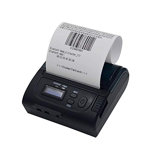 Lowest Price! Mini Portable Bluetooth Thermal Receipt Printer,Compatible with ESC/P0S/STAR Instructi...