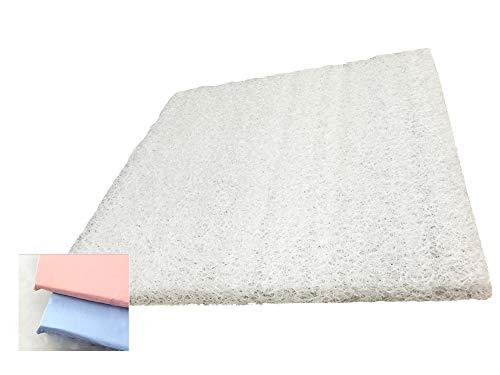 ポリエチレン樹脂 高反発 犬用 マット ピンク カバー付 LLサイズ 88×95×3 ペットマット 腰痛 床ずれ防止 ドッグマット 介護用マット
