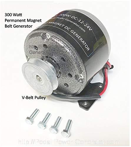 300 Watt Bicycle Generator 3/8