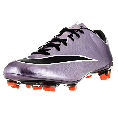 Nike Mercurial Veloce II FG, Botas de fútbol Hombre, Morado/Negro/Amarillo/Blanco (Urbn Lilac/Blk-Brght MNG-White), 40 1/2