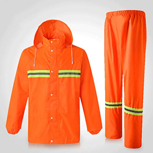YAYA Veiligheidsvest reflecterende kleding fluorescerend pak mode regenjas lichaam veilige bescherming verkeersinrichtingen voor hardlopen fietsen veiligheidsvesten