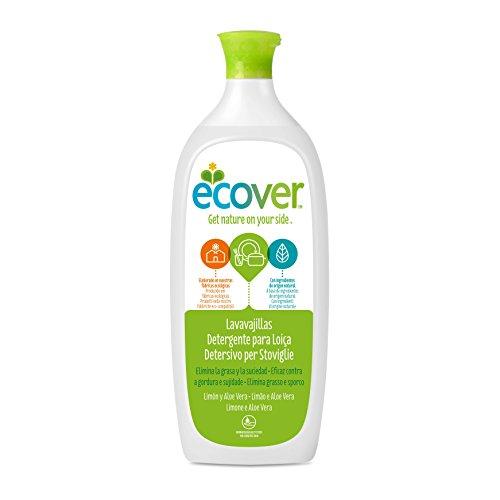 Ecover 3730 - Lavavajillas limón y aloe vera Ecover 1L