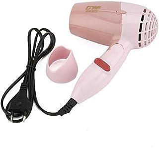CVBN Mini secador de Pelo portátil 1000W Viento Caliente soplador de Pelo Plegable de Poco Ruido GW-662, Rosa