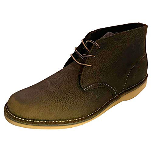 Red Wing 3327 Weekend Chukka Boot - Olive Brown (UK 7, Olive Brown)