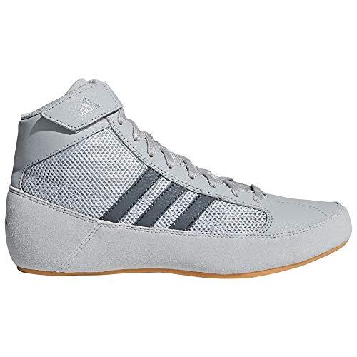 adidas Havoc HVC 2 Children's Kids Junior Light Onyx Boxing Wrestling Boots Shoes UK 5.5